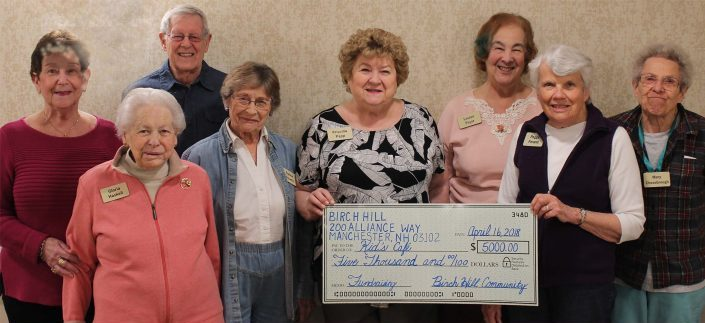 Birch Hill Independent Living residents raise money for Salvation Army Kids' Cafe Manchester NH New Hampshire
