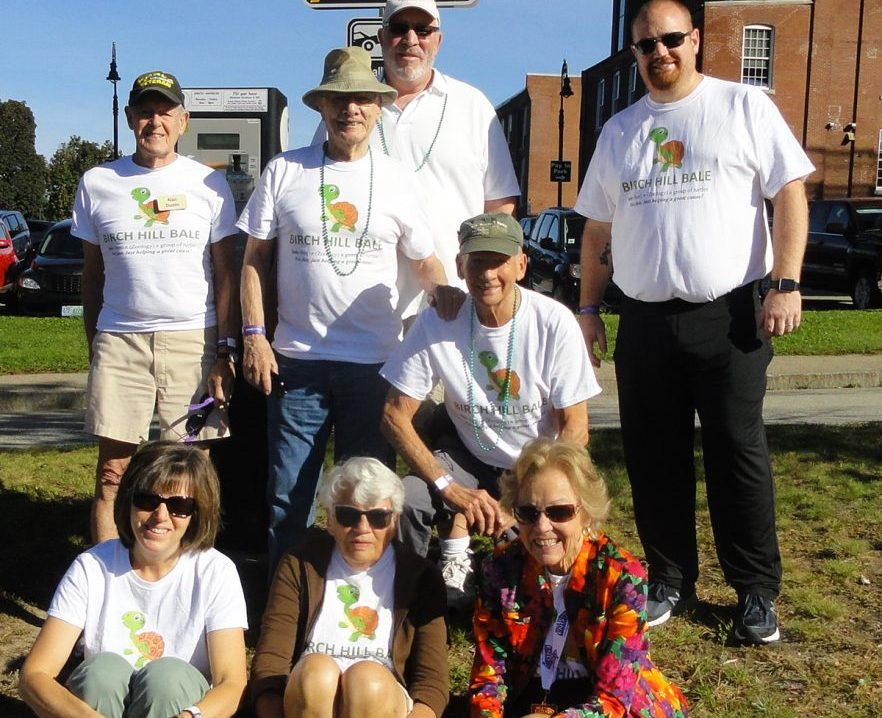 Birch Hill Independent Living residents walk in support of Alheimer's Manchester NH New Hampshire